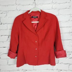 Holt Renfrew Vintage Red Blazer